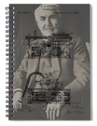 Thomas Edison's Phonograph Spiral Notebook