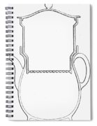 Thompson Drip Coffee Pot Spiral Notebook