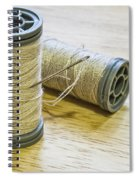 Thread And Needle Spiral Notebook