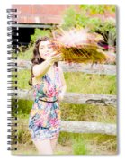 Throw Your Hat Into The Ring Spiral Notebook