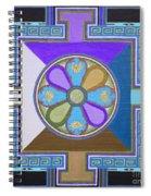 Tibetan Mandala Spiral Notebook