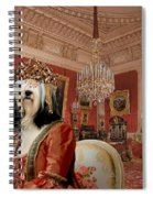 Tibetan Terrier Art Canvas Print Spiral Notebook