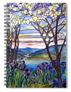Stained Glass Tiffany Frank Memorial Window Spiral Notebook