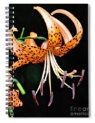 Tiger Lilly Spiral Notebook