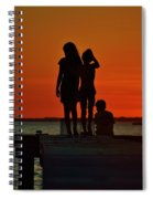 Time With Friends Spiral Notebook