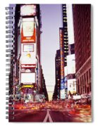 Times Square, Nyc, New York City, New Spiral Notebook
