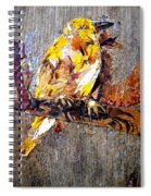 Tired Bird Spiral Notebook