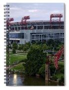 Titans Lp Field Spiral Notebook