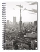 Tokyo Tower Square Spiral Notebook