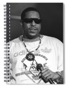 Rapper Tone Loc Spiral Notebook
