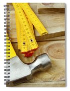 Tools Spiral Notebook