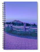 Top Of Mount Mitchell After Sunset Spiral Notebook