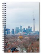 Toronto View Spiral Notebook