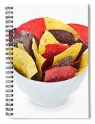 Tortilla Chips Spiral Notebook