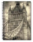 Tower Bridge Spiral Notebook