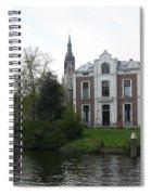 Town Canal - Delft Spiral Notebook