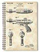 Toy Ray Gun Patent 1952 - Vintage Spiral Notebook