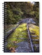 Tracks Along The River Spiral Notebook