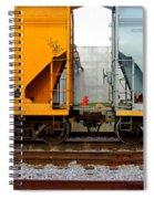 Train Cars 2 Spiral Notebook