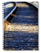 Train Tacks Spiral Notebook