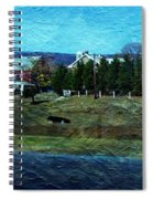 Travel As A Painting Spiral Notebook