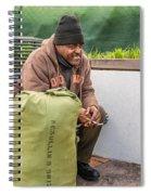 Travelin' Man Spiral Notebook