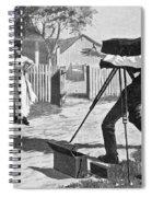 Traveling Photographer Spiral Notebook