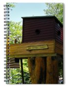 Tree House Boat 3 Spiral Notebook