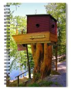 Tree House Boat Spiral Notebook