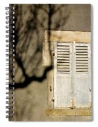 Tree Shadow Spiral Notebook