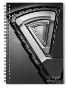 Triangle Staircase Spiral Notebook