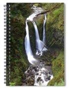 Triple Falls Spiral Notebook