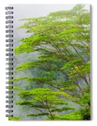 Tropical Forest, Seychelles Spiral Notebook