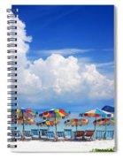 Tropical Holiday Destination Spiral Notebook