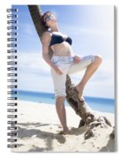 Tropical Island Paradise Spiral Notebook