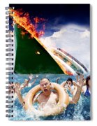 Trouble In Paradise Spiral Notebook
