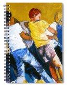 Tug Of War Spiral Notebook