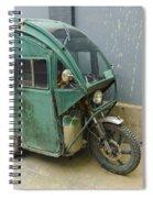 Tuk Tuk 3-wheeled Motorcycle Spiral Notebook