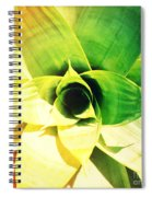 Tunnel Of Green Spiral Notebook