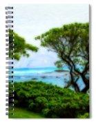 Turtle Bay View Spiral Notebook