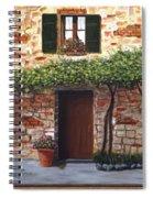 Tuscan Casa Montepulciano Spiral Notebook