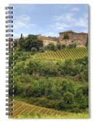 Tuscany - Castelnuovo Dell'abate Spiral Notebook
