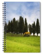 Tuscany - Montalcino Spiral Notebook