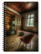 Tv Room Spiral Notebook