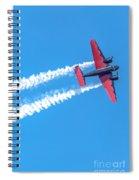 Twin Engine Plane  Spiral Notebook