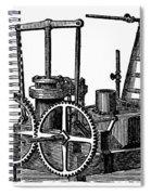 Twin-screw Steamer, 1878 Spiral Notebook