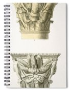Two Column Capitals Spiral Notebook
