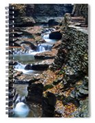 Two Kinds Of Steps Spiral Notebook