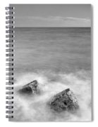 Two Stones Mono Spiral Notebook