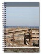 Tybee Island Boardwalks Spiral Notebook